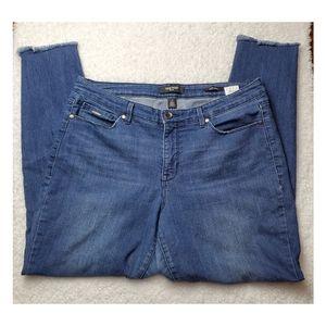 Nine West Mid Rise Skinny  Jean's Size 12